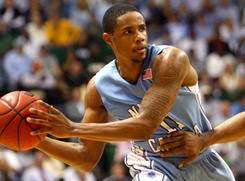 Point guard Larry Drew has left the North Carolina men's basketball team.