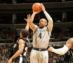 Georgetown's Chris Wright takes a shot during the Hoyas' slim victory over Providence on Saturday.