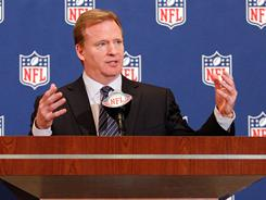 Roger Goodell said Tuesday he's confident the 2011 NFL season will happen.