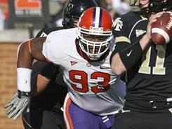Clemson defensive end Da'Quan Bowers could be one of the first picks in April's NFL draft.