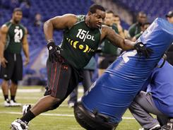 Alabama defensive end Marcell Dareus could be one of the first picks in the NFL draft.