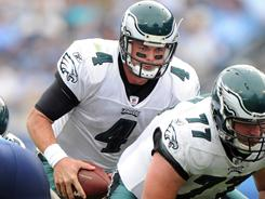 The Eagles will entertain trade offers for QB Kevin Kolb.