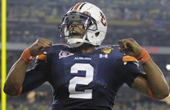Heisman Trophy winner Cam Newton.
