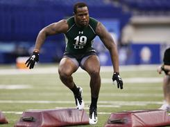 Von Miller is likely to be the first linebacker selected in the NFL draft.