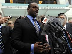 NFLPA leader DeMaurice Smith appeared in court against the NFL on Wednesday.