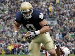 Kyle Rudolph could be the first tight end taken in the NFL draft.