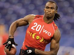 Alabama's Julio Jones is a likely first-round pick in the NFL draft.