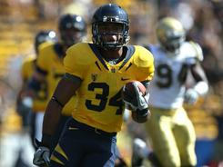Running back Shane Vereen from California is looking to hear his name called in the NFL draft.