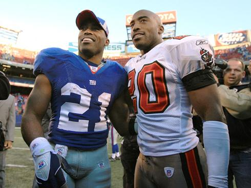 Barber Brothers : Tiki Barber: Giants legacy kept him from signing with Bucs in 07