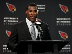 The Cardinals drafted Patrick Peterson with the fifth overall pick.