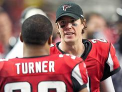 Matt Ryan has helped the Falcons to winning seasons in each of his three years in Atlanta.