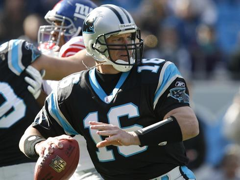 IMG Academy football program director, Chris Weinke, talks about Peyton Manning and his rehab after neck surgery