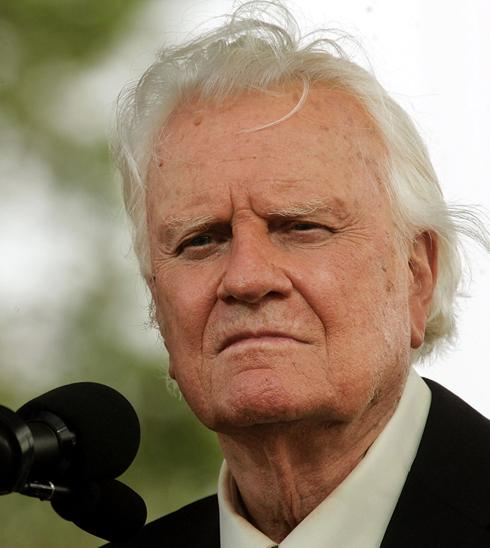 billy graham. A spokesman for Billy Graham