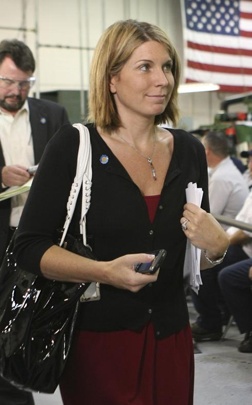 White House officials, ex-Bush communications director Nicolle Wallace ...