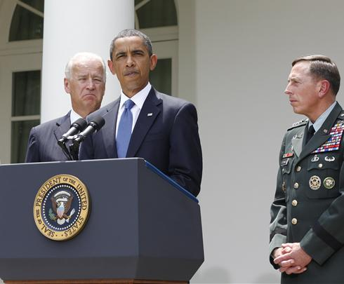 Obama fires McChrystal, picks Petraeus to lead Afghanistan efforts