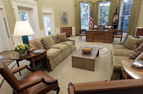 the oval office has been redesigned to suit president obama barack obama oval office