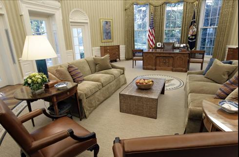 the oval office has been redesigned to suit president obama bill clinton oval office rug