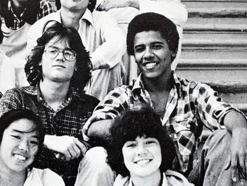 obama school friends