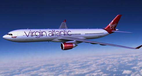 Plane Virgin on Virgin Atlantic To Give Its Planes A New Look   Usatoday Com