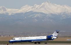 Four of the five delays in May were United Airlines flights to Denver International Airport.