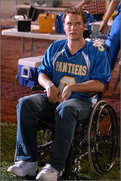 Future uncertain: Friday Night Lights, with Scott Porter.
