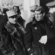 Pierre Fresnay, left, and Jean Gabin star in Grand Illusion, Jean Renoir's foreign-language film about World War I.