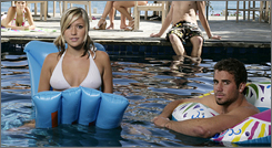 Jason Wahler appeared with Kristin Cavallari on MTV's Laguna Beach: The Real Orange County reality series.