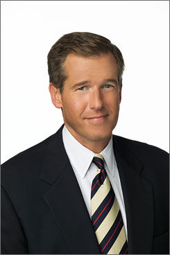 Reporting from Iraq: Brian Williams' trip has been planned for months, the network says.
