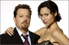 Eddie Izzard and Minnie Driver star in The Riches.