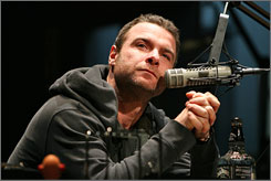 He's all Talk: Liev Schreiber carries the show as radio host Barry Champlain.