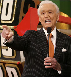 "Bob Barker, who will utter his final ""come on down"" command in June, is up for his 18th Daytime Emmy."