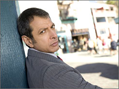 He sees dead people. Or does he? Jeff Goldblum stars as a hallucinating LAPD detective.