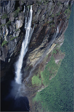 """Fresh Water"": Episode airing April 15 features Angel Falls in Venezuela."