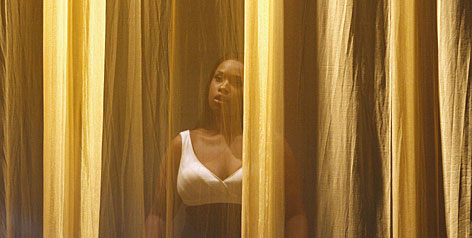 She's on next: Jennifer Hudson waits to perform at the Soul Train Awards earlier this month.
