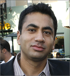Kal Penn dons his thinking cap for an upcoming stint teaching undergraduate courses at the University of Pennsylvania.