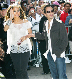 Jennifer Lopez worked closely with husband Marc Anthony on her first all-Spanish album, Como Ama una Mujer. The pair promoted the CD  Wednesday at an autograph session at a Bronx record store.