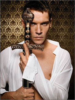 In The Tudors, Jonathan Rhys Meyers plays a trim, young Henry VIII.