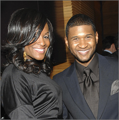 Usher confirmed his engagement to Tameka Foster on Friday, commenting that they could walk down the aisle before the year is out.