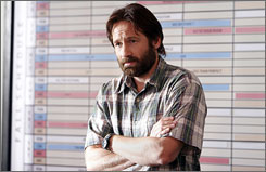 David Duchovny is a writer navigating the television pilot world.