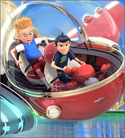 Disney's Meet the Robinsons opened in 3-D to $25.1M. Expect more 3-D projects from directors Peter Jackson, Robert Zemeckis and James Cameron.