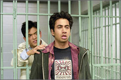 Big break: Kal Penn, right, is best known for starring in Harold & Kumar  with John Cho.