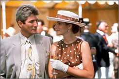 Pretty Woman: Julia Roberts, with Richard Gere, is a hooker with a heart of gold  and an R-rating.