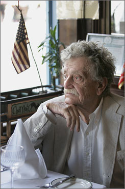 Gone at 84: Kurt Vonnegut wrote Slaughterhouse-Five, which has made lists of the top 100 books, about his experiences in World War II.