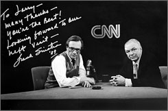 "Pre-suspender years: Larry King interviews Frank Sinatra in 1989.. .. Ol' Blue Eyes was ""vibrant, passionate,"" King now says."
