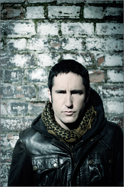 Concept album: Trent Reznor's music thrives online in his cryptic sci-fi game. 
