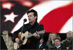 In San Antonio: John Mellencamp performs at the Center for the Intrepid.