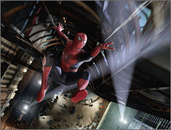 Spider-Man 3: Tobey Maguire puts on the superhero suit again. And he has a lot to live up to: Part 2 earned $373 million.
