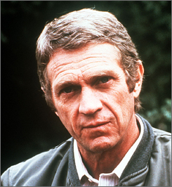 Steve McQueen, shown here, and Sam Elliott have been inducted into the Hall of Great Western Performers.
