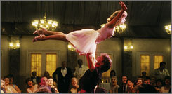 Baby (Jennifer Grey) and Johnny Castle (Patrick Swayze) had the time of their lives 20 years ago in Dirty Dancing.