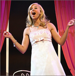 Laura Bell Bundy scored a lead actress nomination for her work in the yet-to-open theatrical production of Legally Blonde.